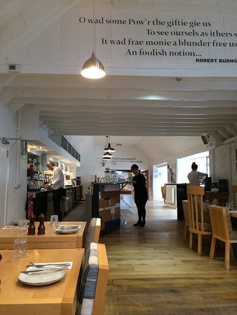 Clachan, UK: Lunch visit