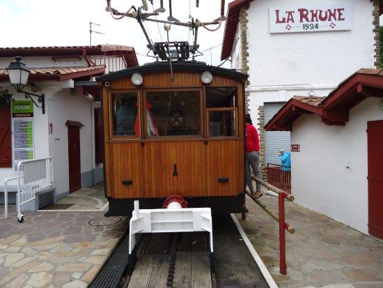 Sare, Fransa: train en gare
