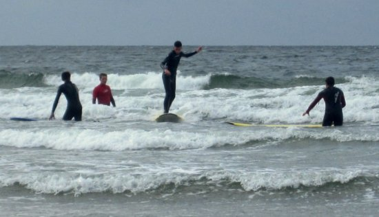 Strandhill, Irlanda: Our Surf School, enjoy it.