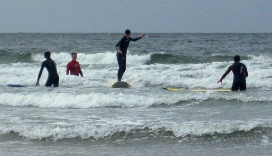 Strandhill, Ιρλανδία: Our Surf School, enjoy it.