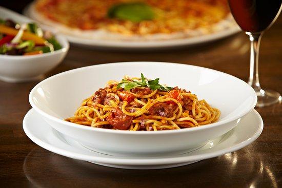 Bishops Stortford, UK: Classic Italian spaghetti