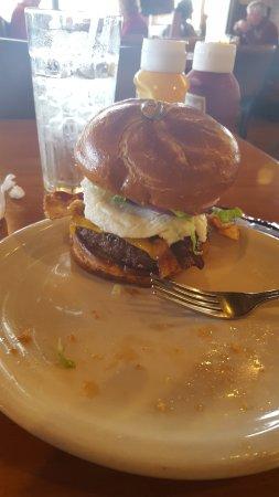 Williamson, GA: bacon egg cheeseburger