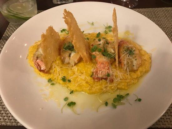 Marilia, SP : Risoto com lagostim
