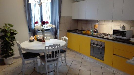 Albosaggia, Italia: Zona colazione