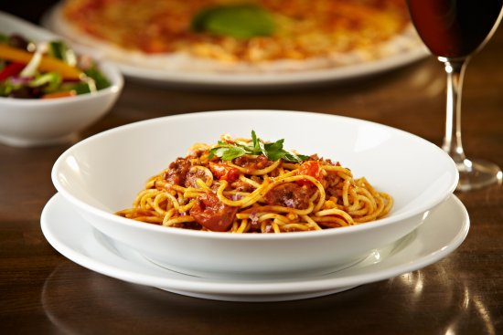 Buckingham, UK: Classic Italian spaghetti