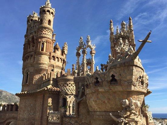 Castillo de Colomares: Вид 1