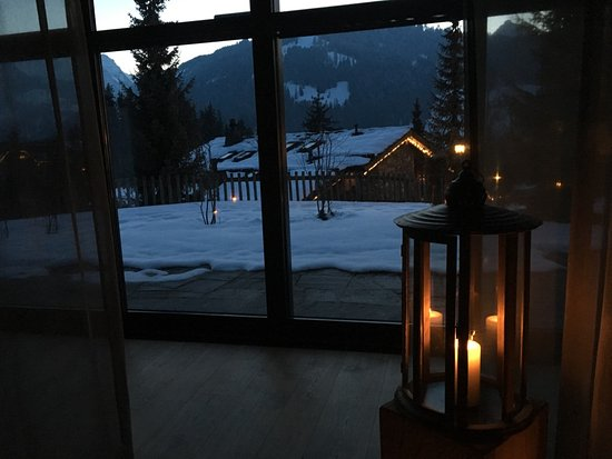 Gstaad Palace Hotel: spa, relaxation room