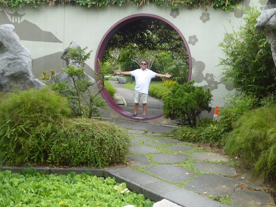 Garden By The Bay East Car Park moongate - picture of gardensthe bay, singapore - tripadvisor