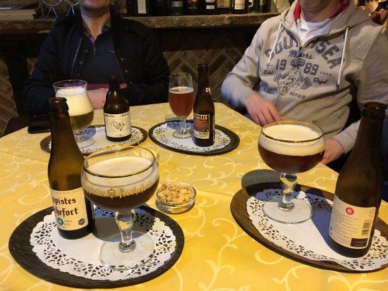 Staminee De Garre: Selection of beers