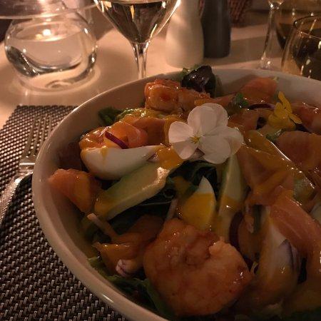 La Chapelle-en-Serval, France: Salade de Gambas