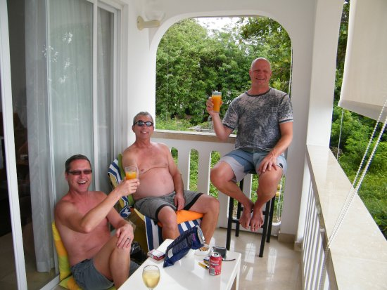 La Passe, Σεϋχέλλες: Happy Hour on the Balcony