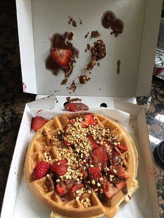 Bad quality waffle - Creams, Camberley