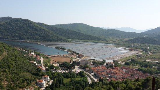 Ston, Kroatien: Виды со стены