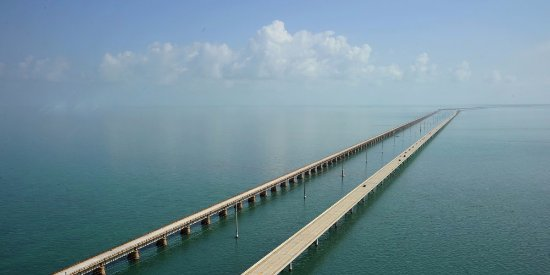 Ramrod Key, Flórida: Tarvelling the 7 Mile Bridge is a sight no one should miss while visiting the Keys!