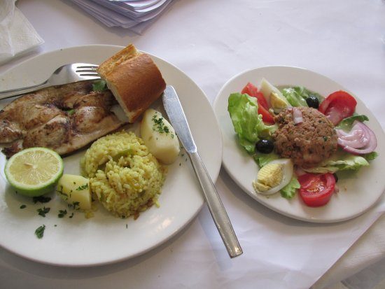 Hotel el-Biar: Lunch from our conference package