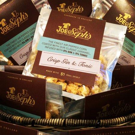 Epping, UK: Joe & Seph's popcorn