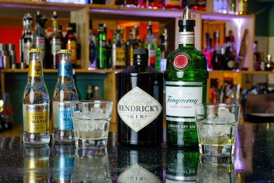 Hedon, UK: Good gin selection