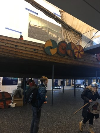 Viking World: Ship used to replicate Viking travels