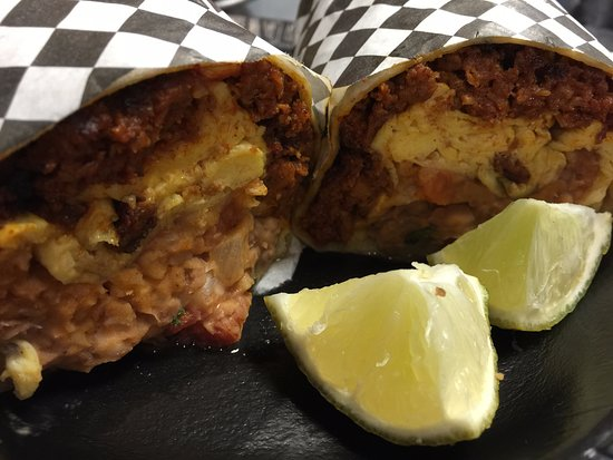 Post Falls, Айдахо: Breakfast Burritos all day, from open to close!!!!