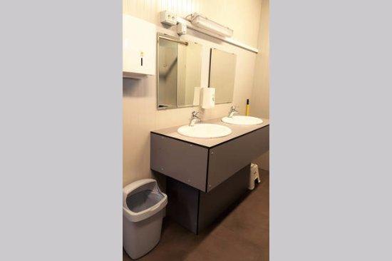 Sezana, Slovenië: Camp toilet