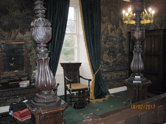 Appleby-in-Westmorland, UK: State room