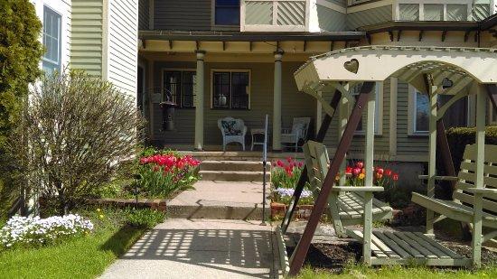 Brockport, NY: Guest entrance