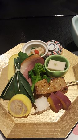 Ohanabo : smoked duck, etc.