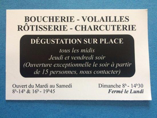 Les Provinces Boucherie Restaurant Horaires Et Ouvertures