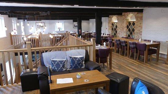 Mezzanine Area mezzanine dining area - picture of the river mill, eaton socon