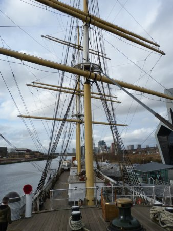The Tall Ship at Riverside: The Upper Deck