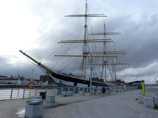 The Tall Ship at Riverside: Dockside view
