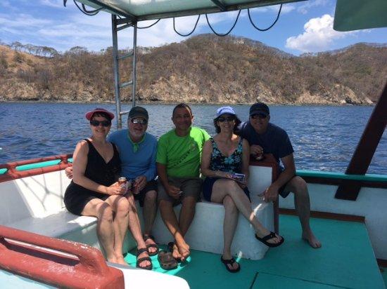Gulf of Papagayo, คอสตาริกา: Snorkeling adventure with friends near Playa del Coco, Costa Rica!