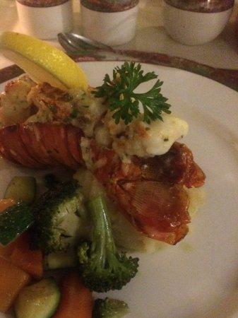 Sugar Cane Club Hotel & Spa: Treat Yourself menu - Lobster Thermidor