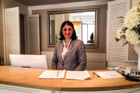 Hotel Capri: super friendly helpful manageress
