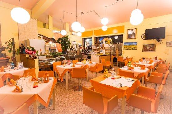 Portomaggiore, Italia: La sala vista con grand angolo
