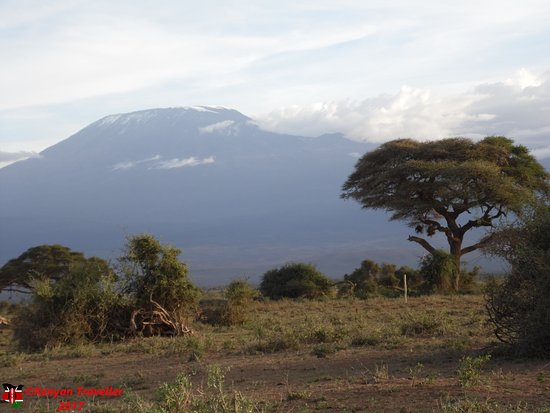 Amboseli National Park, Kenya: View of Mount Kilimanjaro