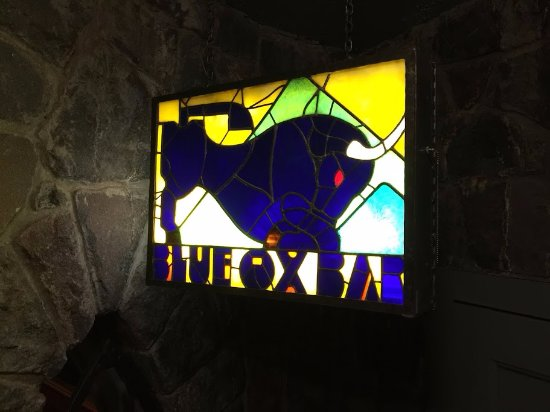Blue Ox Bar at the Timberline Lodge
