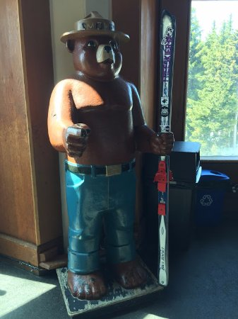 Smokey Bear at the Timberline Lodge