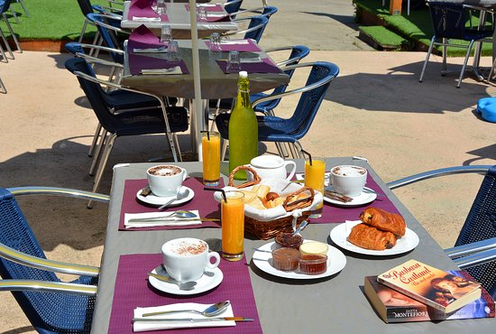Serra-di-Ferro, Frankrike: Résidence ALBA ROSSA*** Snack bar (2)