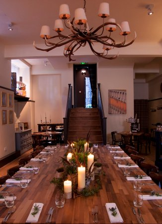 Private dining room for up to 40 guests picture of for Best private dining rooms edinburgh
