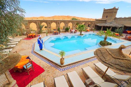 CamelTours: Lovley swimmingpool in Merzouga