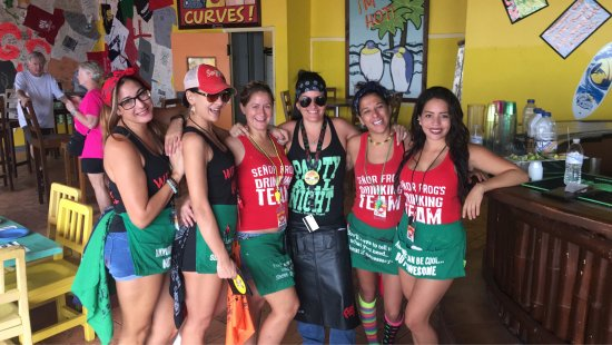 Senor Frog's : Frogs staff !!!!