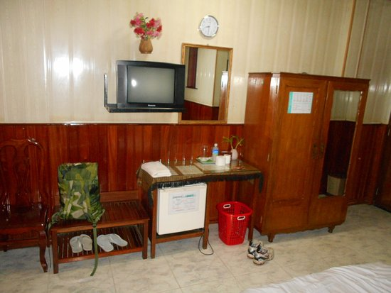 Dara Reang Sey Hotel Phnom Penh: Mitt enkelrum
