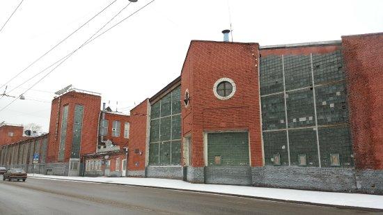 Novo-Ryazanskaya Street Garage