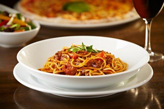 Epping, UK: Classic Italian spaghetti