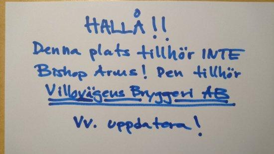 Falun, السويد: Meddelande till Trip Advisor