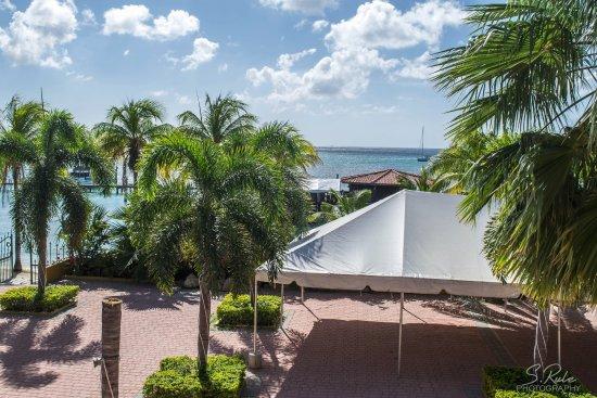 Aruba Surfside Marina : View from the balcony: Jan-Feb 2017