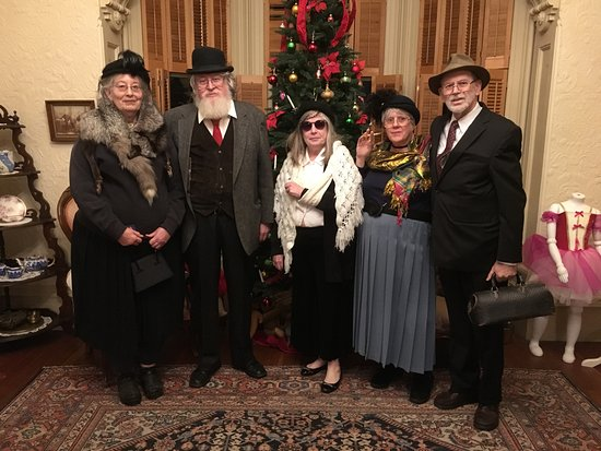 Dress up as one of Walla Walla's fine citizens from the past and play our Murder Mystery Game.