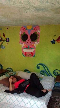 El Rincon del Viajero: Cama de casal confortável e espaçosa