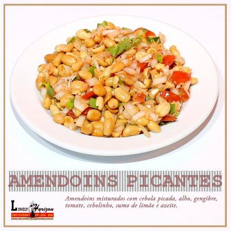 Linda-a-Velha, Portugal: Spicy peanuts...! Badam sadeko...!!!
